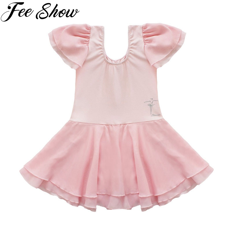 2-14 Y Girl Dancing Clothes Girls Ballet Dress Kids Gown Dancer Princess Children's Leotard Professional Ballet Tutu Dresses new girls ballet costumes sleeveless leotards dance dress ballet tutu gymnastics leotard acrobatics dancewear dress