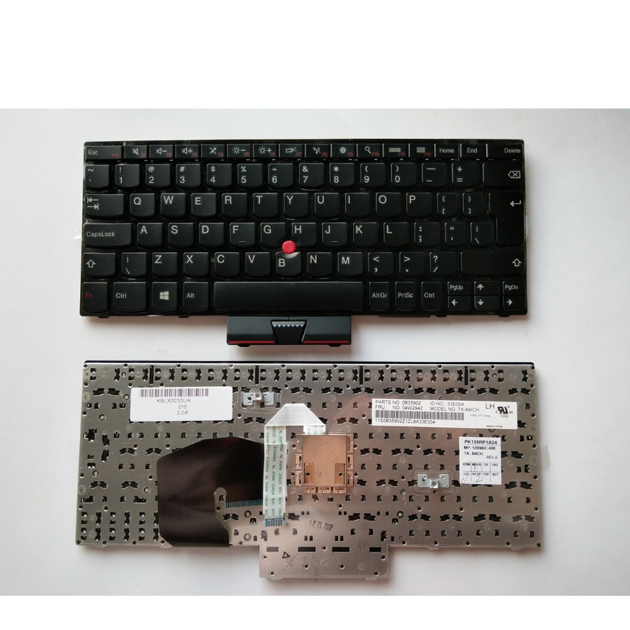 UI Black New English Replace laptop keyboard For Lenovo For Thinkpad S230 S230U S230I E230 E230S With pointing sticks цена