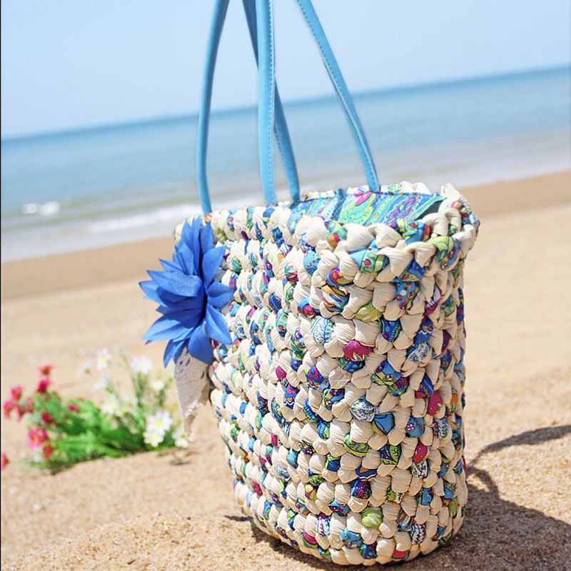 Aliexpress.com : Buy Brand Designer Women Straw Beach bag Weave ...