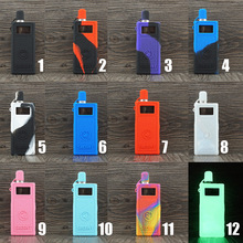 Smoant Pasito Pod Protective Cover Silicone Case Shield Wrap Sleeve Skin With Lanyard Sling-in Electronic Cigarette Accessories from Consumer Electronics on AliExpress
