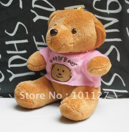 Free Shipping! Teddy Bear,Lovers gift,Lovely bear,Plush toys,12pcs/lot