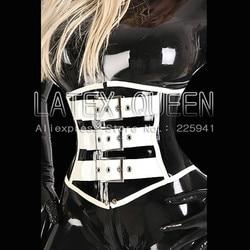 Erogenous Latex Corsetry rubber corset
