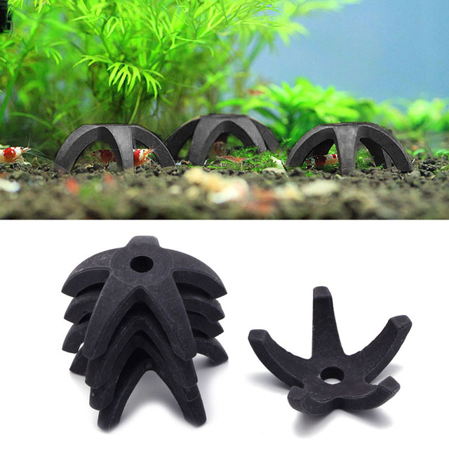 Aquarium Fish Tank Mini Starfish-Shaped Shrimp Home Shelter Breeding Cave