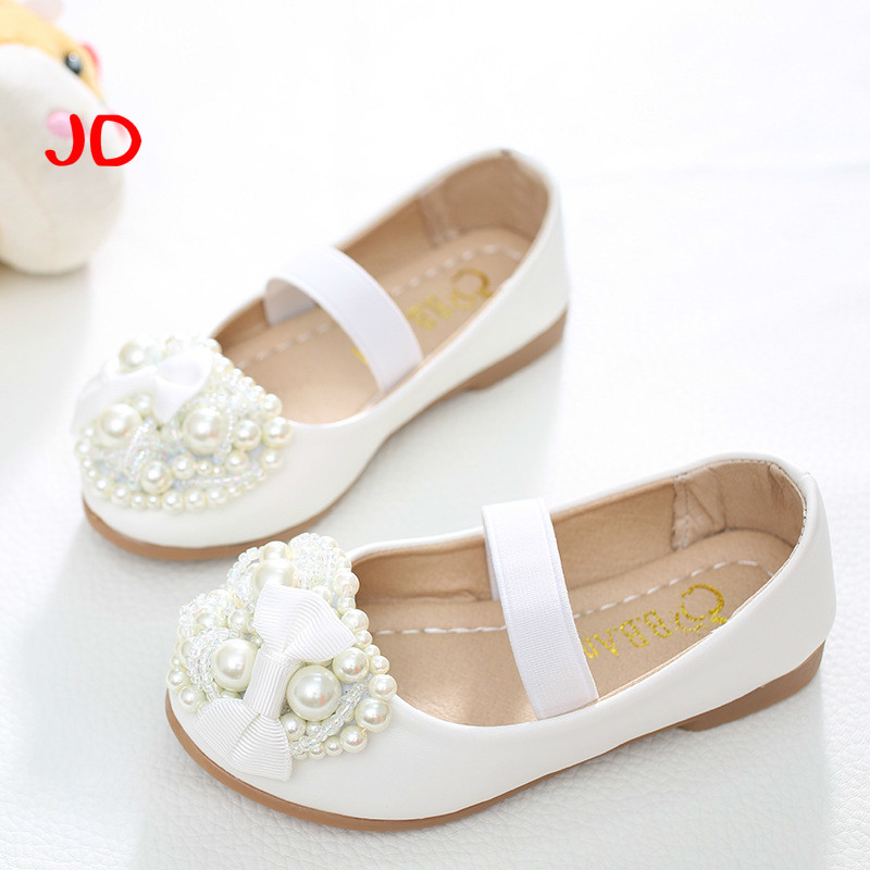 Casual Children Shoes Girls Princess Shoes Fashion Spring Summer Girls Sandals 1-10 Years Old Kids Shoes With Bow ...