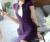 Primavera Verano Moda Mujer Púrpura Blazers Mujeres Abrigos Chaquetas Señoras Elegantes Estilos Uniformes Ropa de Trabajo de Oficina OL Blazers