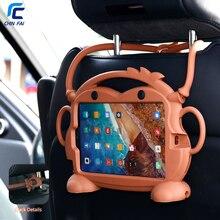 CHINFAI Kid мультфильм чехол для Xiaomi Mi Pad 4 8 »противоударный Odourless водостойкий Чехол для Xiaomi Mi Pad 4 8 чехол для переноски с ремешком