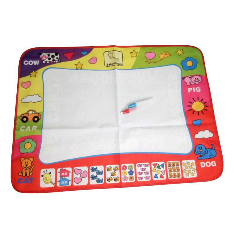 Children s Water Canvas Magic Pen Doodle Painting Picture Water Painting Pad Graffiti Puzzle font b