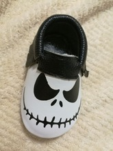 New Stylish Genuine Leather Baby Halloween Shoes