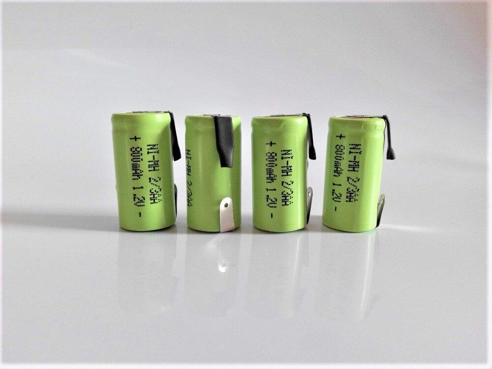 4PCS 2/3aa 800mah 1.2v Ni-MH rechargeable battery 2/3AA1.2V Superman razor battery