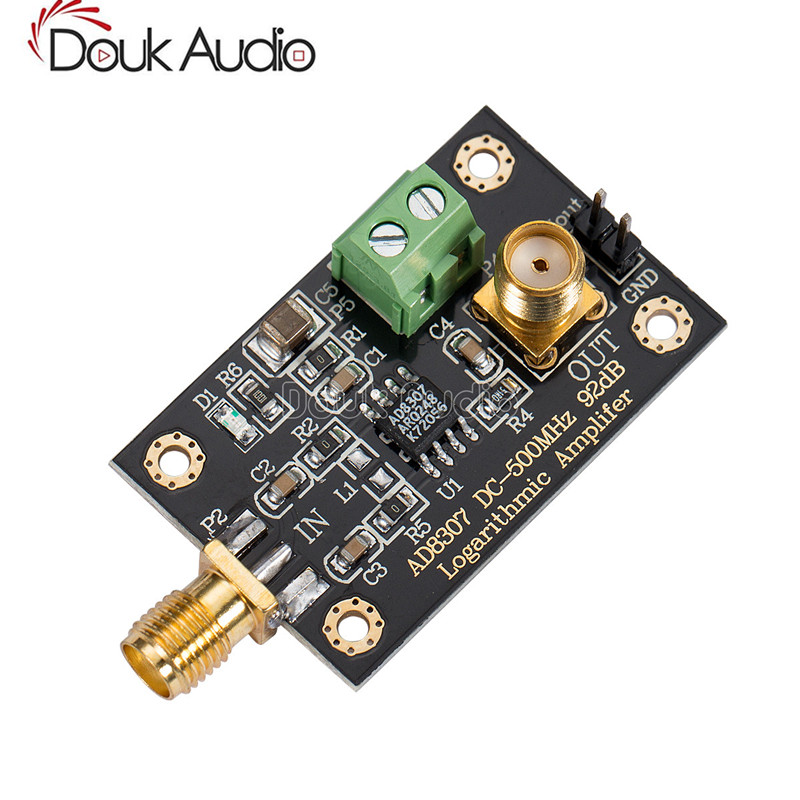AD8307 DC-500MHz 92dB Logarithmic Amplifier Module RF Transmitter Power Detector