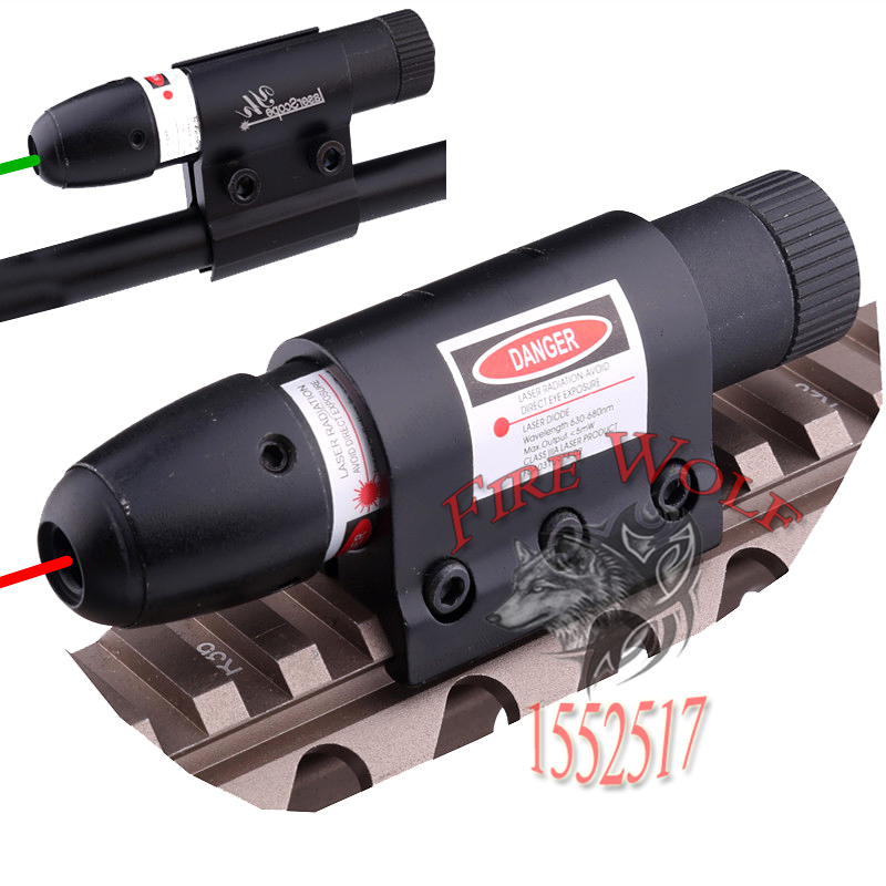 New 2016 hot selling 1x Tactical Green Dot laser sight Fr rifle gun scope remote switch 2 mounts L0810 T15