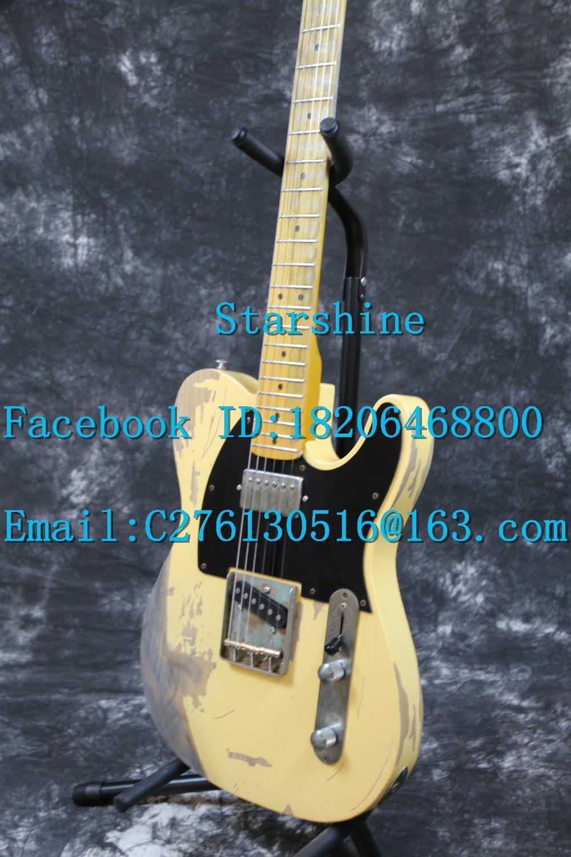 Starshine SR-LTL-039 Relic 100% hecho a mano 1960 FD Vintage TL - Instrumentos musicales - foto 4