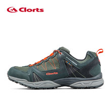 New 2016 Clorts Men Waterproof Trekking Shoes Brethable Hiking Shoes Professional Outdoor Sport Sneakers Man Walking Shoes Male