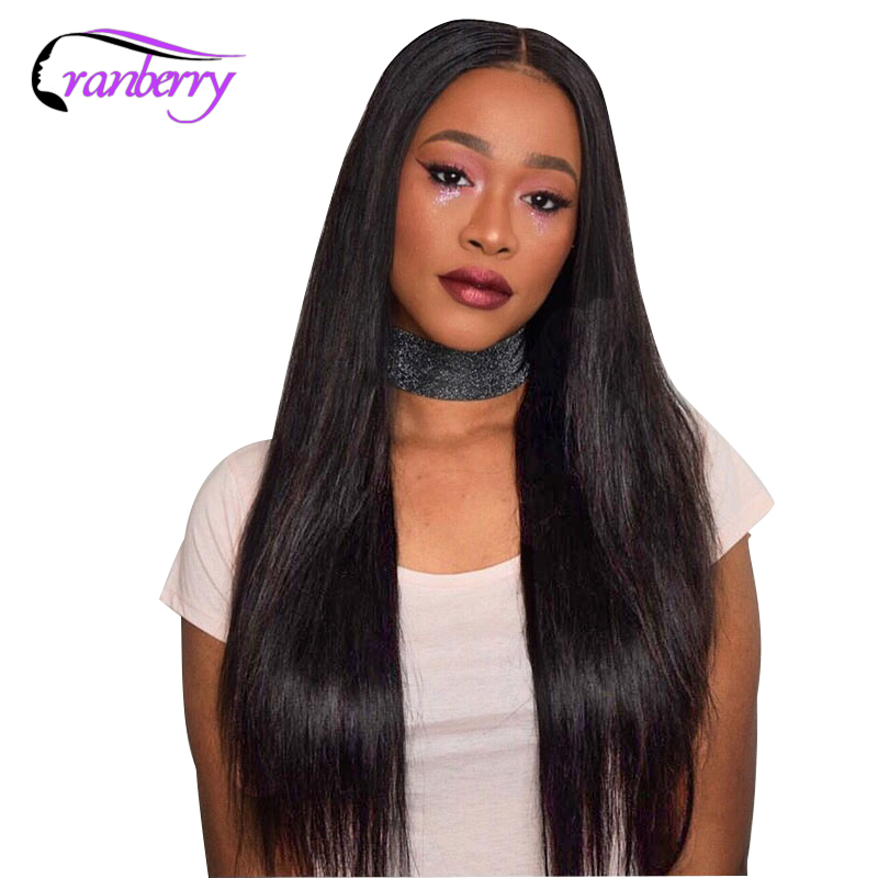 Cranberry Hair 13X4 Lace Front Human Hair Wigs 100 Remy Hair Wigs For Black Women Brazilian