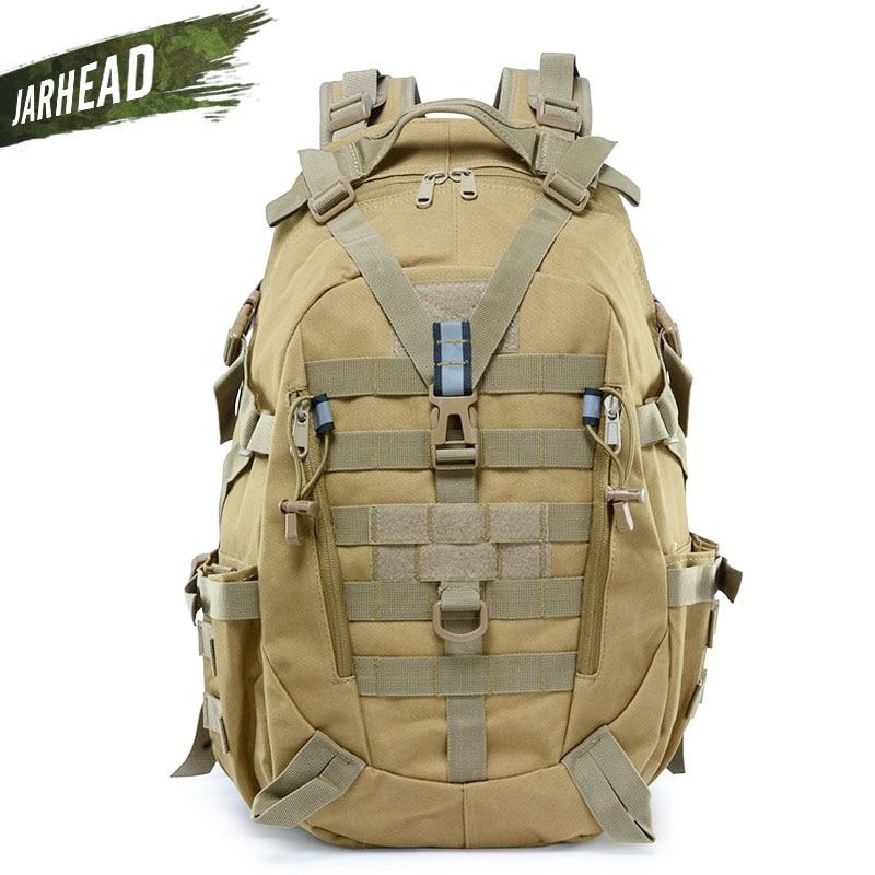 Sac à dos réfléchissant tactique en plein air sac à dos Camouflage Molle sac d'assaut militaire randonnée Camping chasse sac de voyage