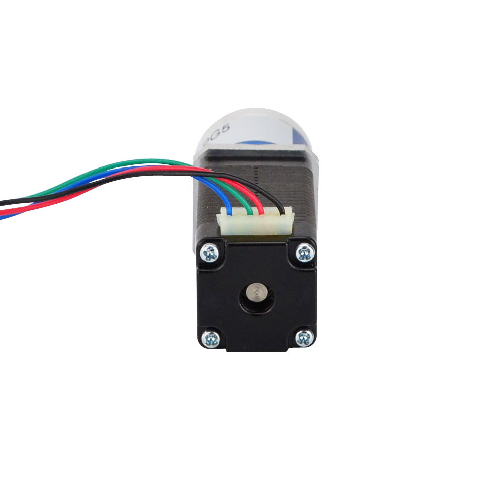 US $45 97  5:1 Planetary Gearbox Nema 8 Stepper Motor 0 6A 4 lead Small  Size High Torque for CNC 3D Printer-in Stepper Motor from Home Improvement  on