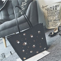 Fashion PU Fabric Design Women Handbag Bag Cute Star Pattern Large Lady's Young Girl Shoulder Bag