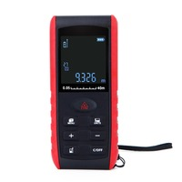 New 40 100M Laser Distance Meter Digital Electronic Handheld Precision 2mm Rangefinder Tape Measure Portable Area/volume Tool