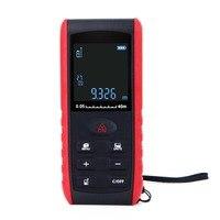 Useful 40 100M Laser Distance Meter Digital Electronic Handheld Precision 2mm Rangefinder Tape Measure Portable Area/volume Tool