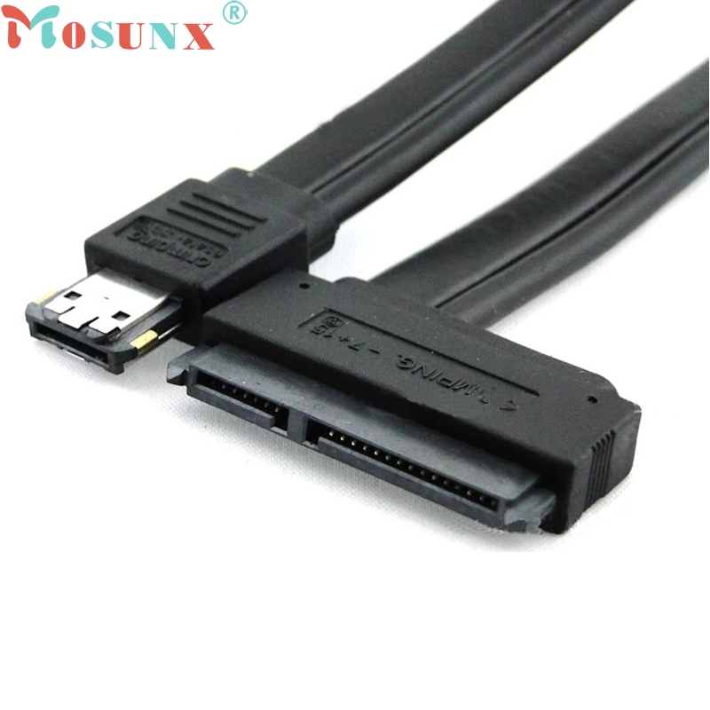 GRACEFUL New Dual Power eSATA USB 12V 5V Combo to 22Pin SATA USB Hard Disk Cable JAN30