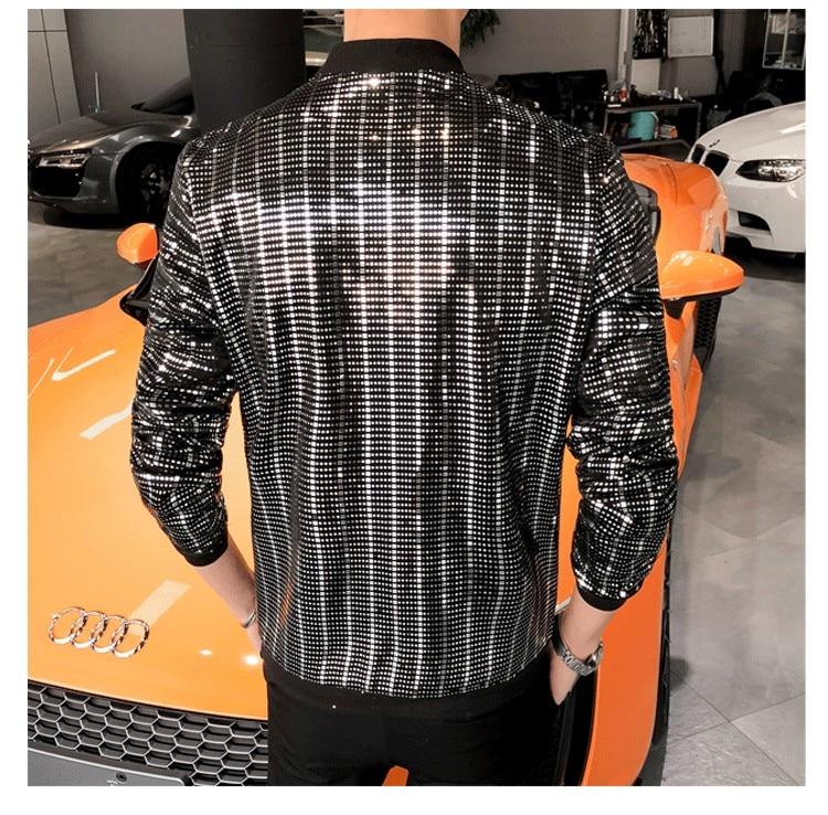 Men Jacket Fashion 2019 Bomber Jacket Long Sleeve Summer Sun Protection Clothing Slim Fit chaqueta hombre Streetwear Windbreaker