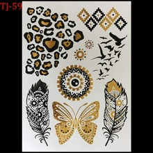 New Design Tattoo the watch picture style Temporary Tattoo Sticker Sex Products Metallic tatoos Wholesale