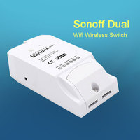 Itead Sonoff Dual 2 Channel Wifi Wireless Switch Smart Home Remote Control Intelligent Timer Switch Control
