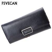 New 2018 Korean Fashion Female Wallet Women Creative Long Money Card Sweet Girls Cute Wallet PU Leather Woman Purse Wallets