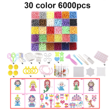 2019 DIY Water Mist Magic Beads Toys For Children Animal Molds Hand Making Puzzle Kids Educational Spell Replenish Beans