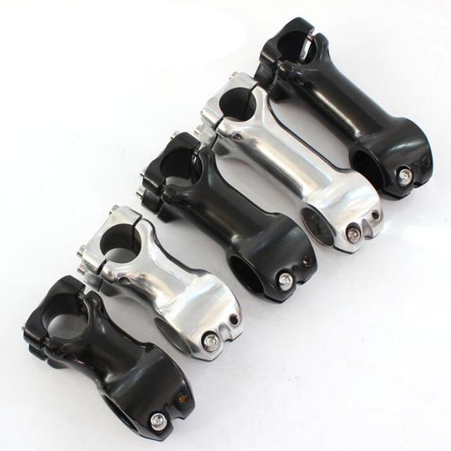 Q856 mosca morta bicicleta da liga de Alumínio stand 25.4*28.6 MM * 60/70/90 MM suporte de pé bicicleta da liga de alumínio de riser de Bicicleta tronco