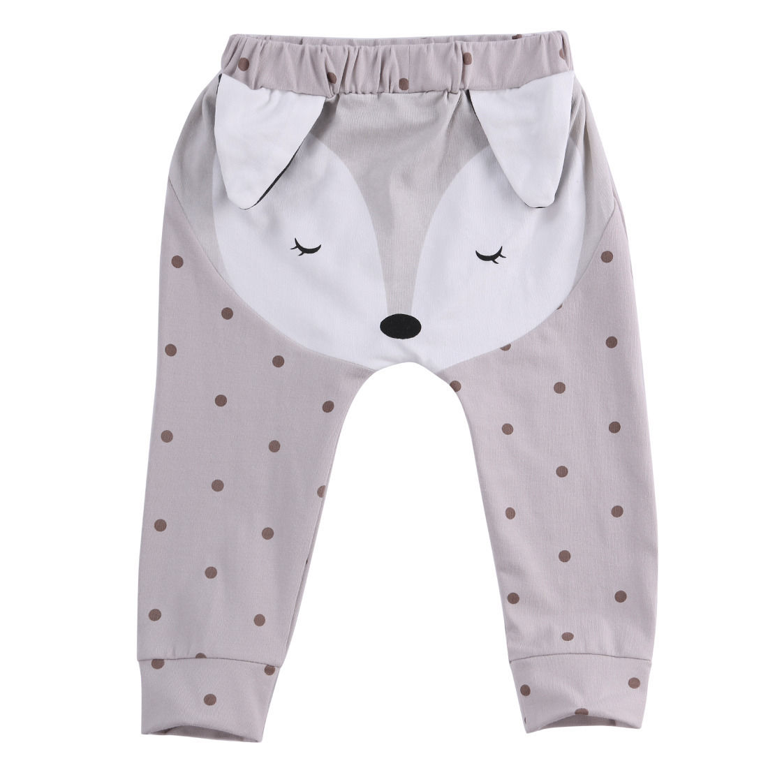 0-24 M Kids Harem Pants Toddlers Infants Baby Boy Girl Cotton Trousers Slacks