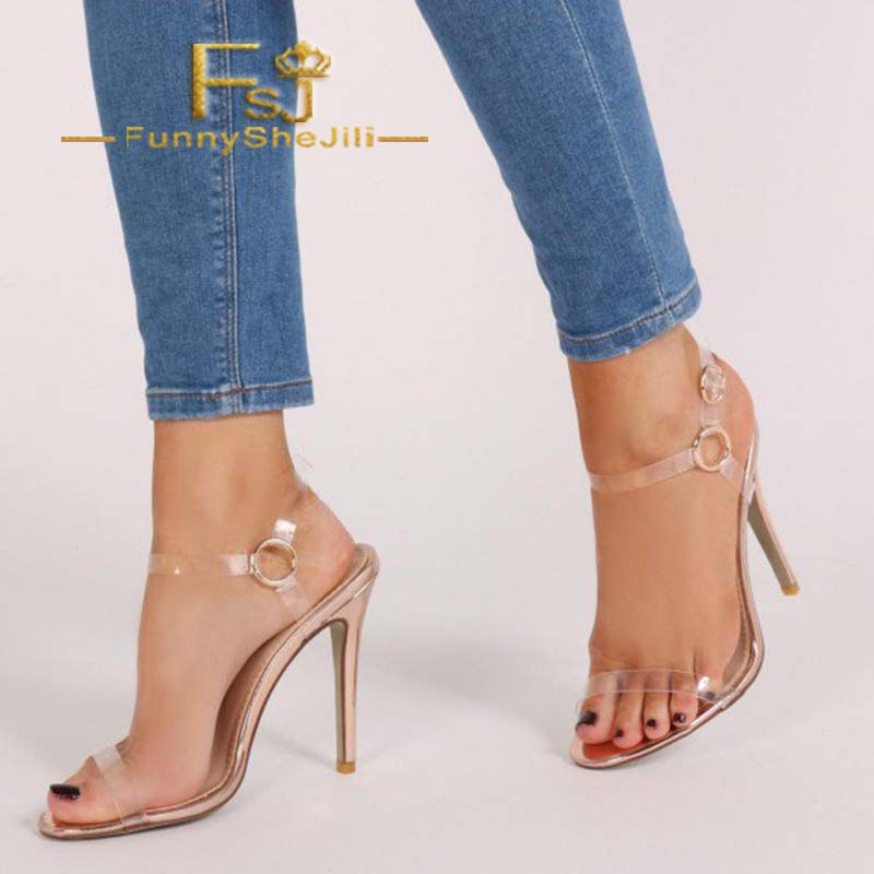 Heels Generous Rose Gold Side Bow Heels Open Toe Ankle Strap Stiletto Heel Sandals Incomparable Generous Attractive Fashion Noble Sexy Fsj