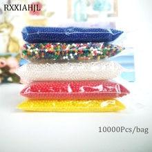 Bolas de hidrogel para solo, 10000, em forma de pérola, cristal, bolas de água, maconha, para flor/erva, gelatina mágica bolas de bolas