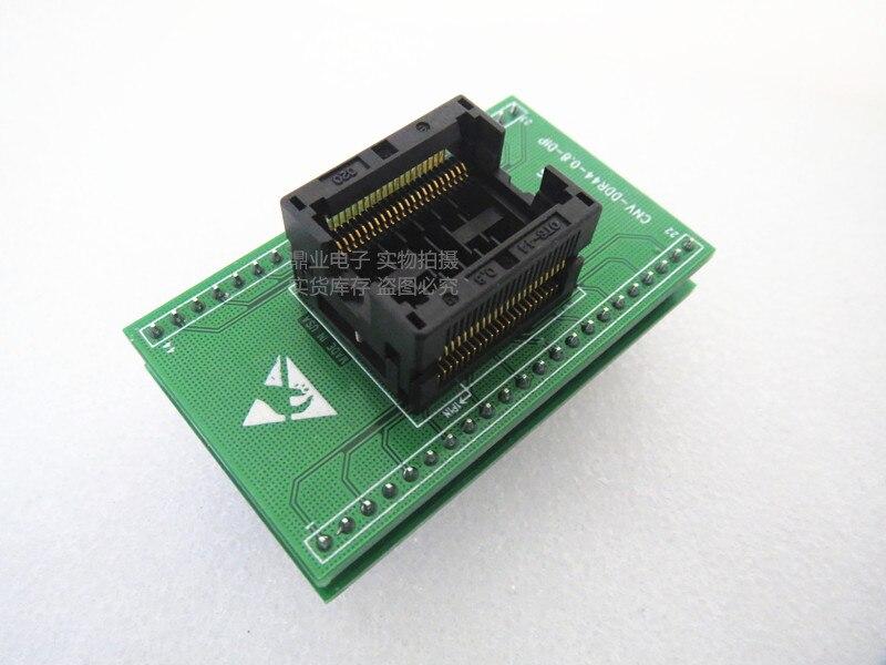 Calado de doble capa CNV DDR44 0.8 DIP TSOP44/DIP 44PIN paso 0,8 MM adaptador de asiento de encendido IC prueba de toma de asiento banco-in Herramientas de red from Ordenadores y oficina on AliExpress - 11.11_Double 11_Singles' Day 1