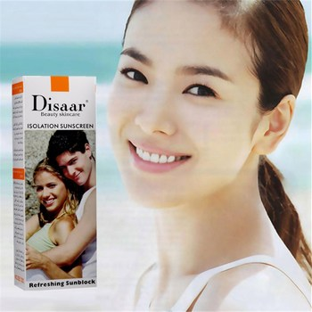 цена на DISAAR Strong Isolation Skin Whitening Moisturizing Isolation Sunscreen Concealer Foundation Makeup 80ml BBS-03