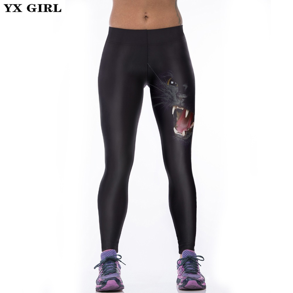 Yx Girl Classic European America Style 3d Print Women Sporting Leggings Sexy Fitness Pants Legging Female Clothes Ropa Mujer Be Novel In Design