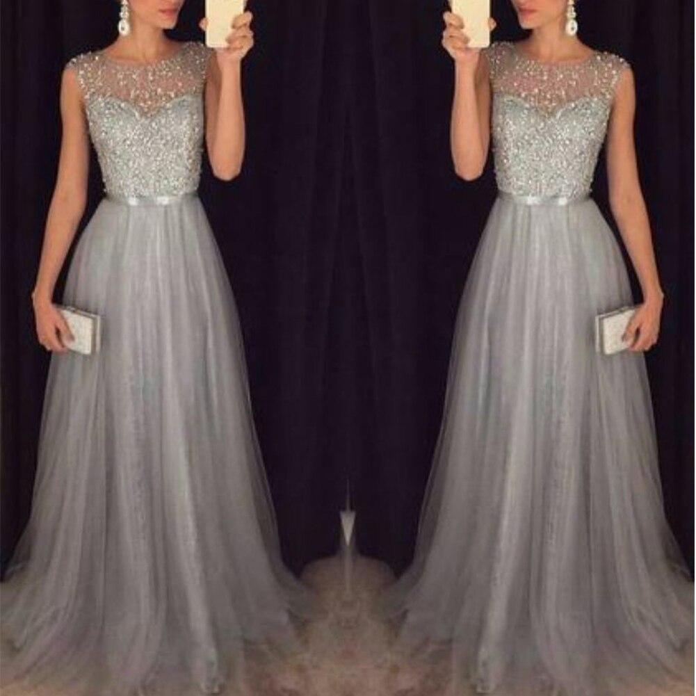 Fashion Sequin Patchwork Dress 2019 Evening Party Sleeveless O Neck Long Belt Slim Elegant Dress Women Maxi Vestidos