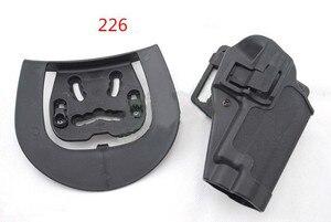 Image 4 - Pistolera táctica Airsoft CQC pistolera para G17/1911/M9/P226/USP Correa Loop paleta de la cintura caza al aire libre