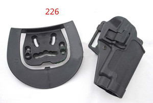 Image 4 - Tactical Airsoft CQC Holster Pistol Gun Holster For G17/1911/M9/P226/USP Belt Loop Waist Paddle outdoor Hunting