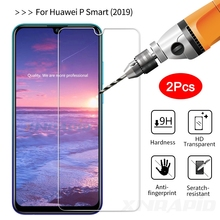 2Pcs Glass for Huawei P Smart 2019 Tempered PSmart Plus Screen Protector For Protective Film