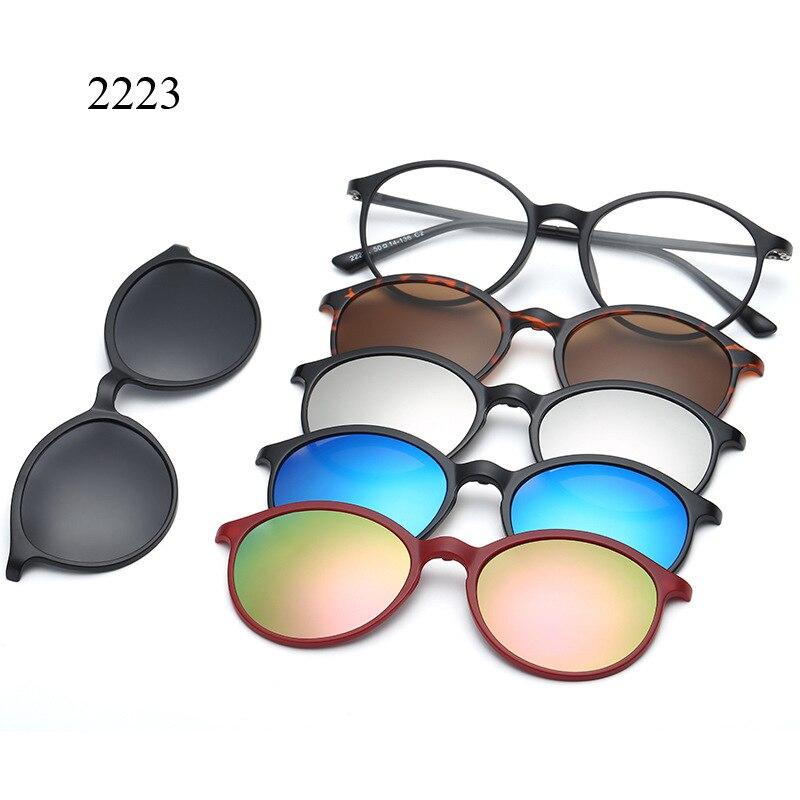 a0ff4750d2d Magnet Sunglasses Clip Magnetic with bag Clip on Sunglasses Men Polarized  Clips Custom .