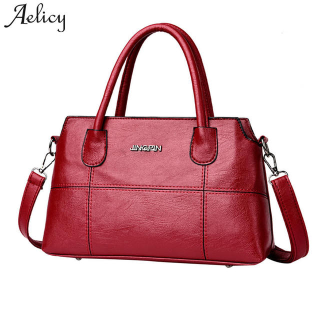 c7a81f4256c Aelicy Women Fashion Casual Handbags Totes for Womem Evening Clutch Messenger  Bag Ladies Famous Brand Shoulder Crossbody Bags-in Top-Handle Bags from ...