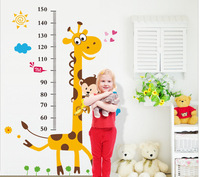 Stadiometer Wall Sticker For Kids Rooms Ruler Home Decor Living Room Stickers Muraux Anime Poster 2016