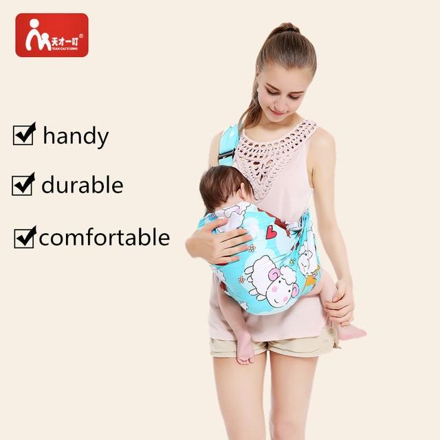 Bébé Sling Porte-Bébé Wrap Sling transporteur Infantile Sling Confortable  Couverture de Soins Infirmiers bébé cd193a17dc0
