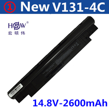 14.4V 2600MAH 4cell replace Laptop Battery For Dell Inspiron 14Z 14z-N411z N411z Vostro V131 V131D V131R black цены