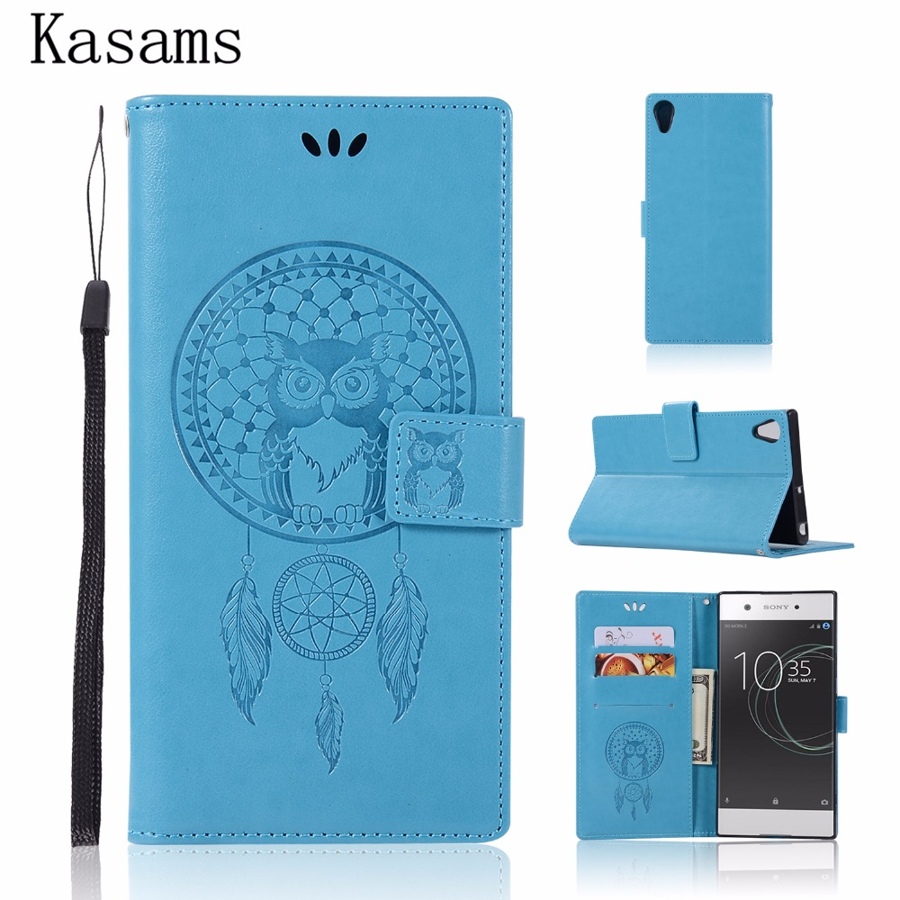 Consumer Electronics Objective Capinha For Sony Xperia L1 G3311 G3312 G3313 Leather Case For Sony L1 Flip Cover Magnet Wallet Stand Pattern Owl Phone Shell Bag We Take Customers As Our Gods