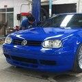Гольф 4 MK4 ПУ Обвес Переднего Бампера Для Губ для Volkswagen VW Golf 4 MK4 1997-2004 GTI Стиль