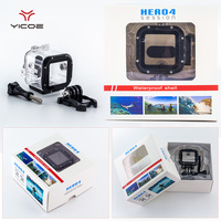 45M Diving Underwater Waterproof Housing Case Cover House For Go Pro 4S GoPro Hero 4S Session