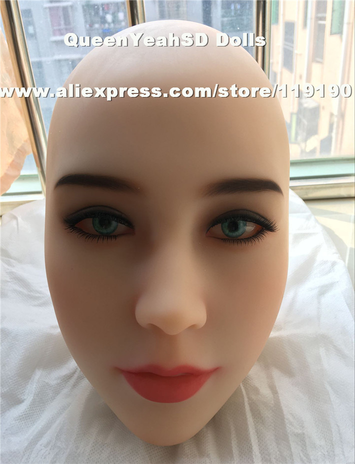 Top quality silicone doll head for sex dolls, lifelike love doll, adult sex toys for men, oral sexy products недорго, оригинальная цена