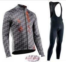 7d21aa252d04 Northwave 2019 зима термальность флис Велоспорт одежда СЗ трикотаж костюм  открытый езда на велосипеде MTB костюмы